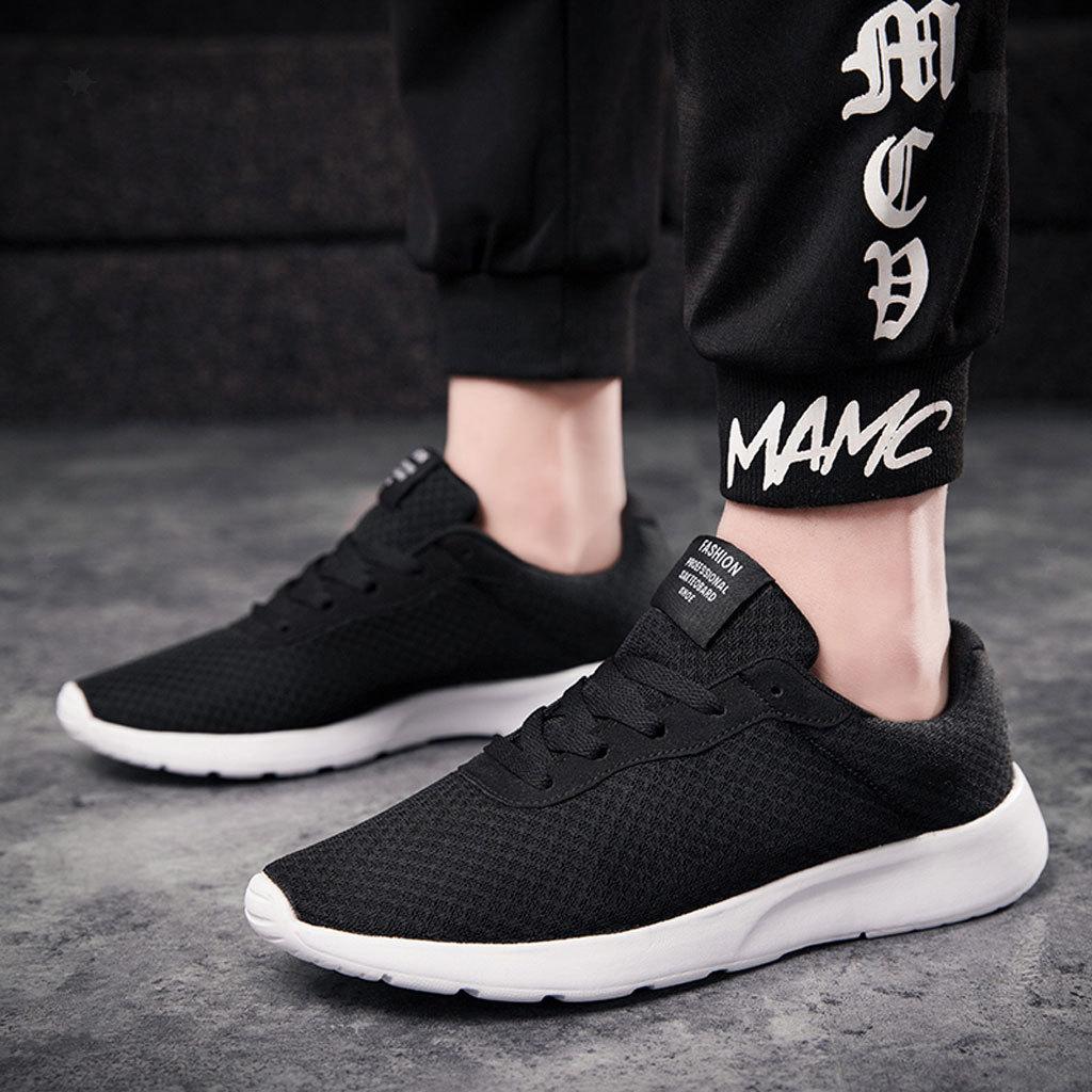Chaussures-de-Sport-Homme-Leger-Sneakers-Chaussures-Homme-Leger-Sneakers miniature 6