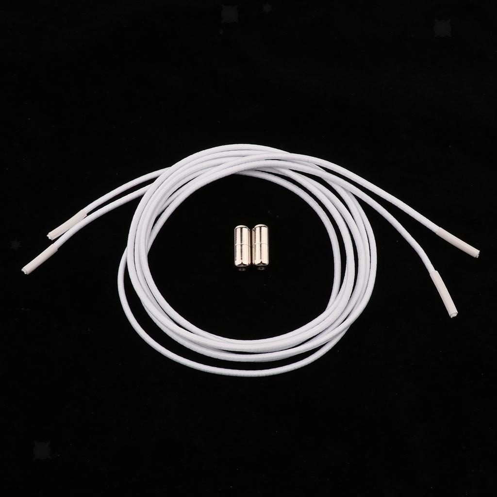 2pcs-ensemble-unisexe-aucune-cravate-lacets-elastiques-lacets-en miniature 8