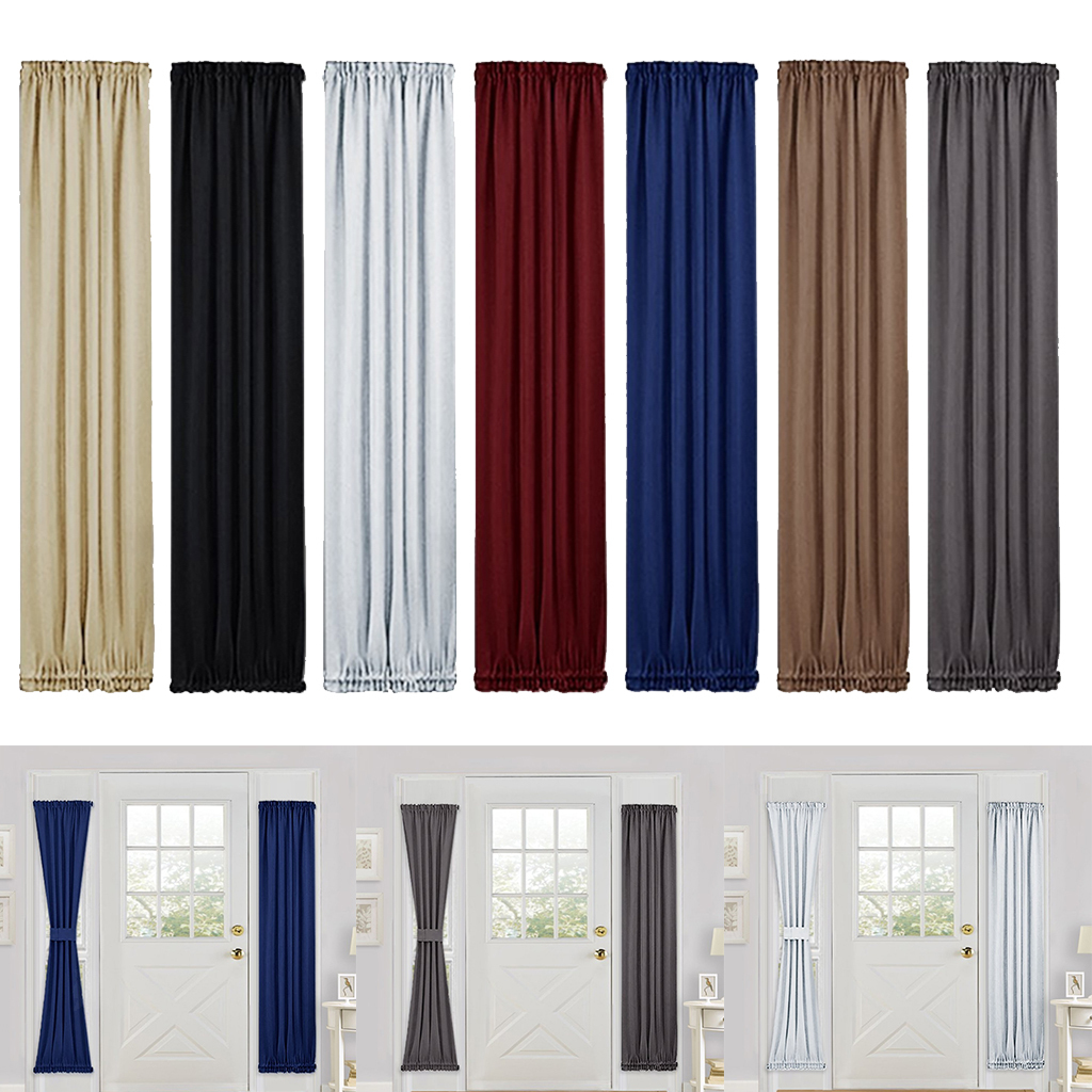 French Door Curtain Panel Rod Pocket
