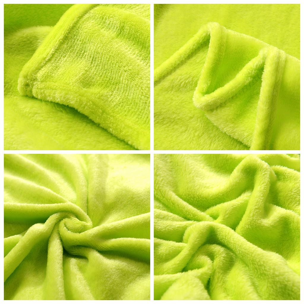 Superweiche Flanelldecke Tagesdecke Kuscheldecke Decke für