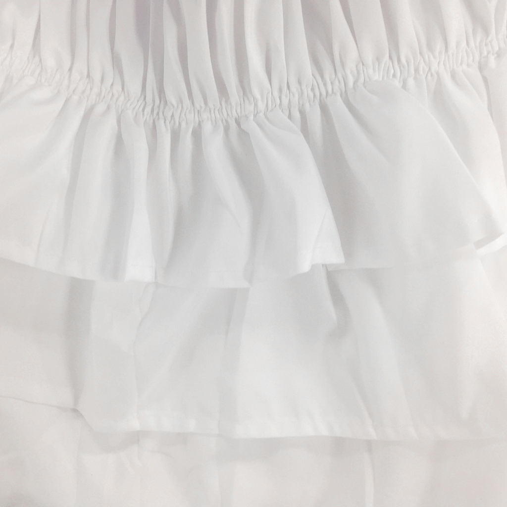 Blesiya-38cm-Drop-Bed-Skirts-Multi-Ruffle-Waterfall-Bedskirts-All-Sizes thumbnail 6