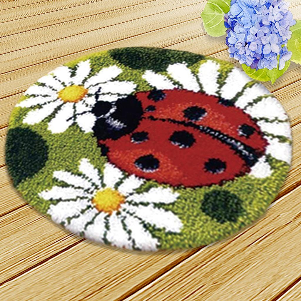 thumbnail 60 - Latch Hook Rug Making Kits for Kids/Adults Hand Embroidery Cushion Needlecrafts