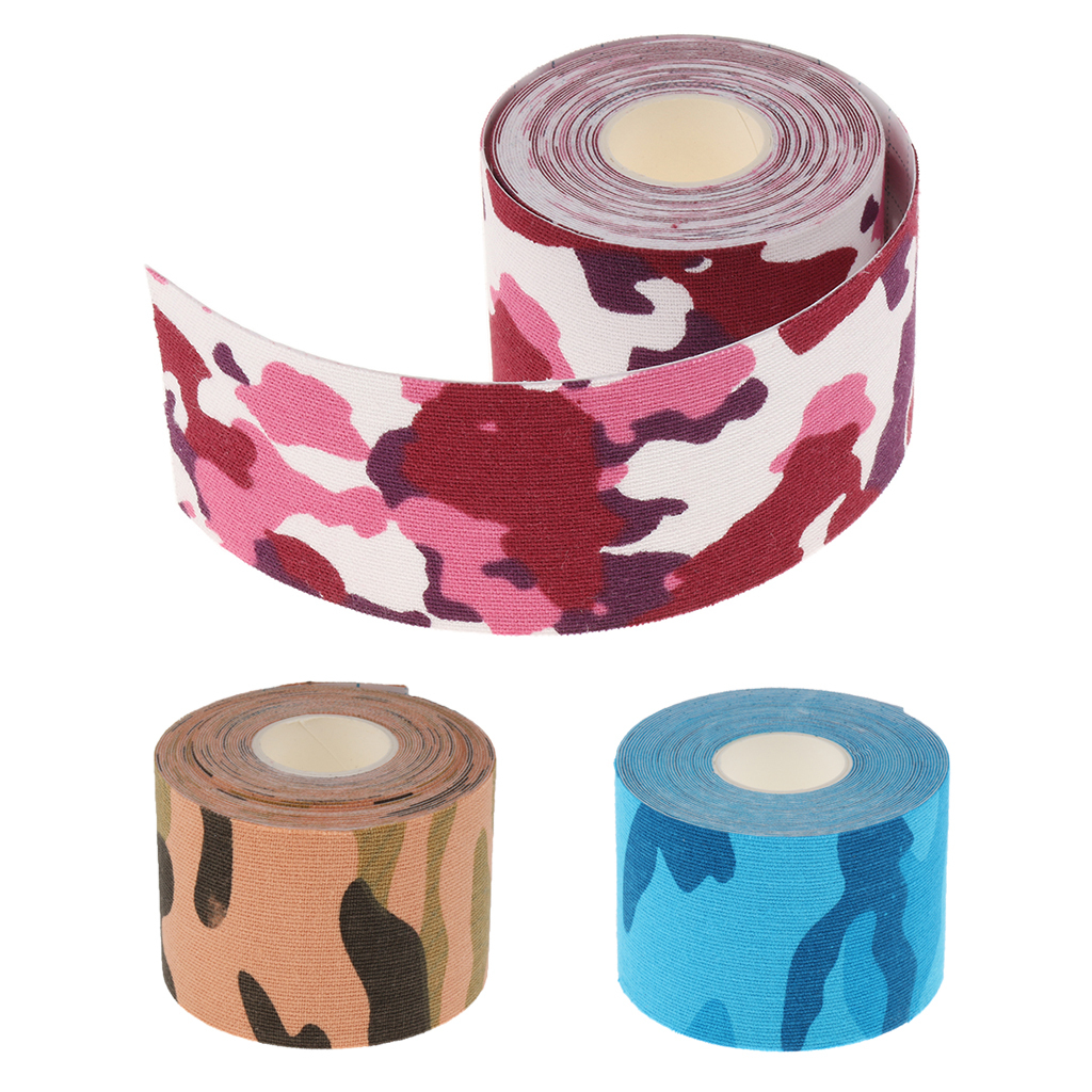 Details about Kinesiology Sports Muscle Care Elastic Physio Therapeutic Tape 5m x 5cm