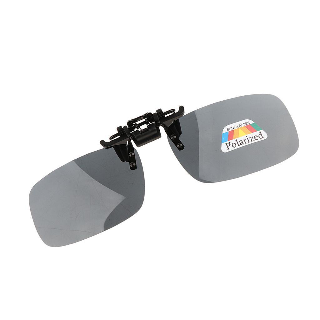 Occhiali-da-sole-polarizzati-con-clip-polarizzati-durevoli-unisex-per miniatura 6