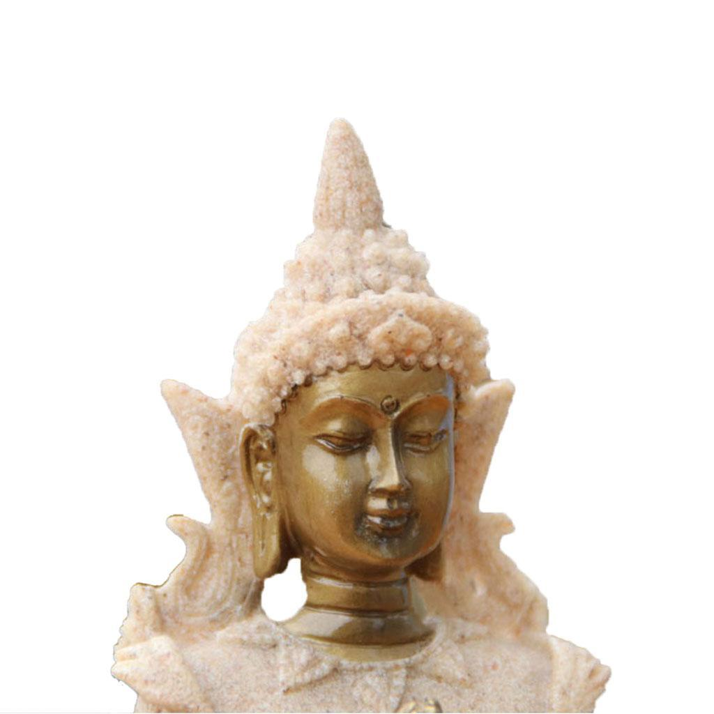 Sandstone-Carving-Statue-Sculpture-Buddha-Animal-Hand-Carved-Figurine-Decor thumbnail 17
