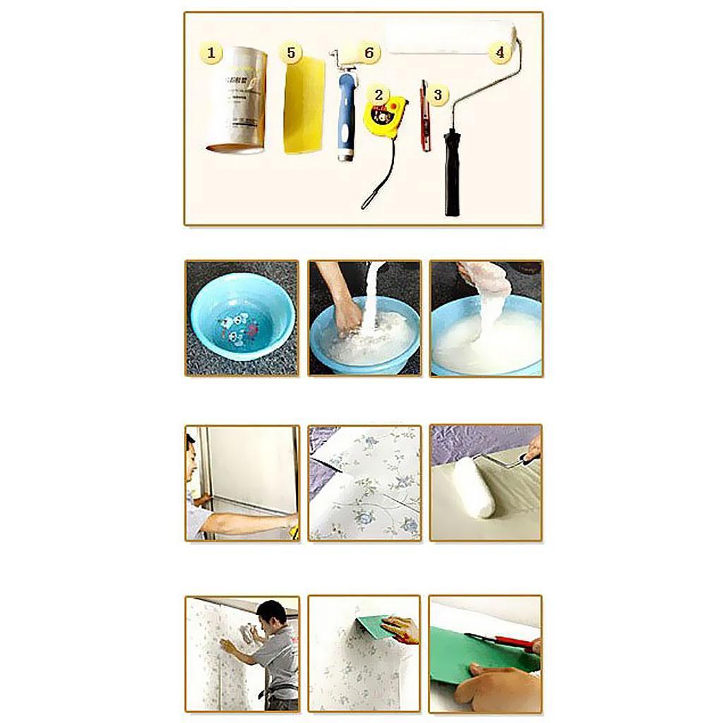 miniatura 5 - Decorazione 3D Arte Adesivo Carta da Parati Arredamento Casa