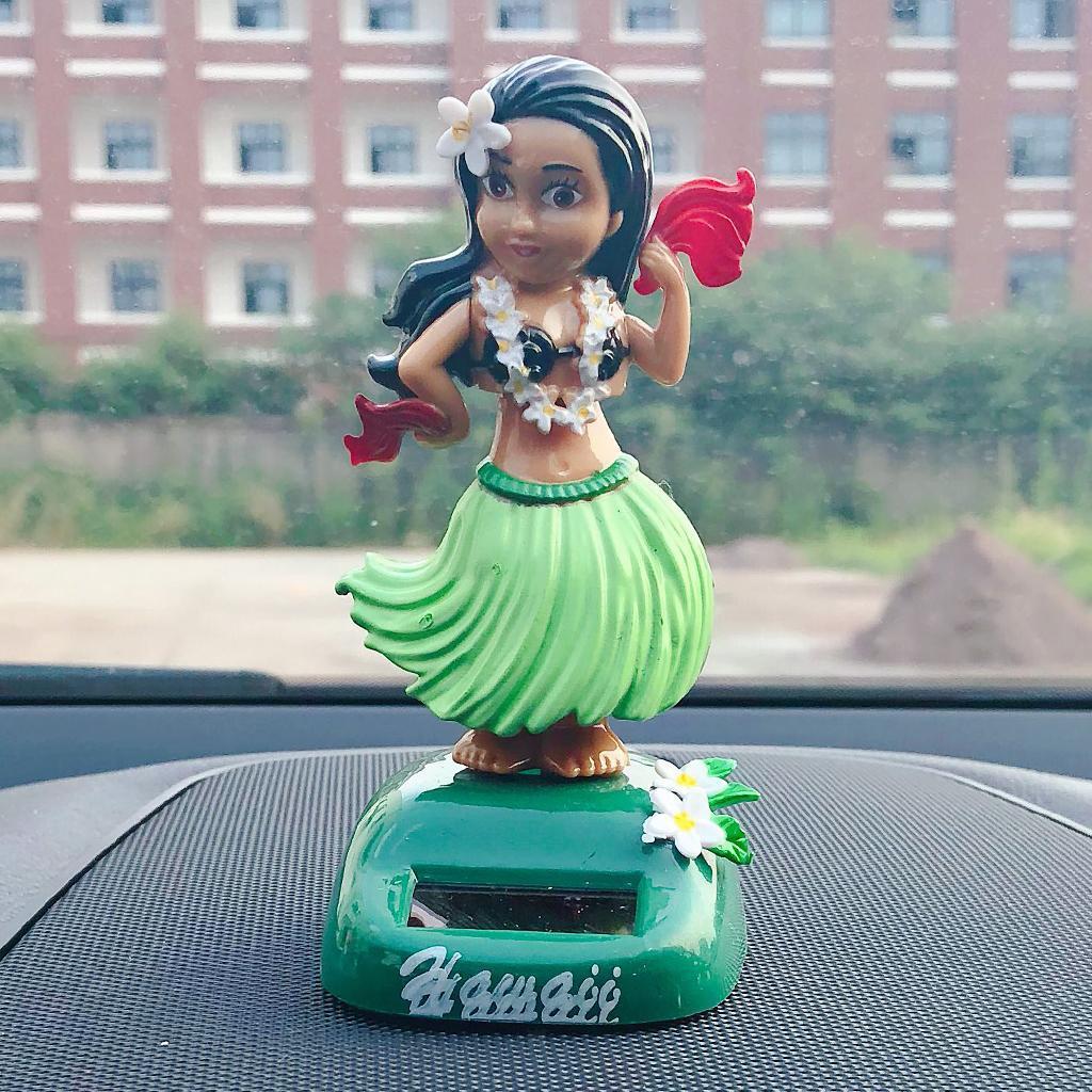 Solar-Power-Dancing-Hawaii-Girl-Dancer-Toy-Home-Office-Car-Dashboard-Decor thumbnail 9