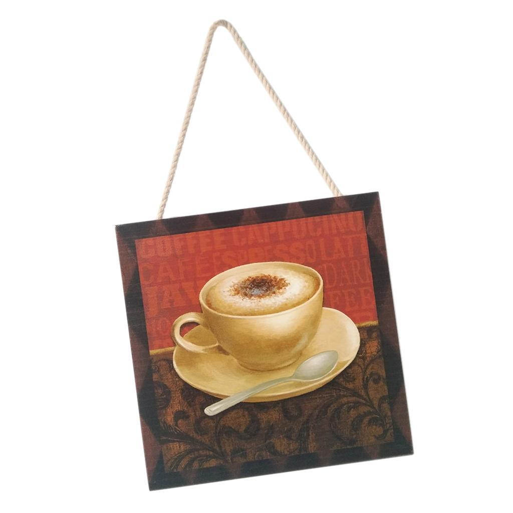 Caffe-d-039-annata-del-modello-del-segno-del-segno-di-legno-per-la-decorazione miniatura 17