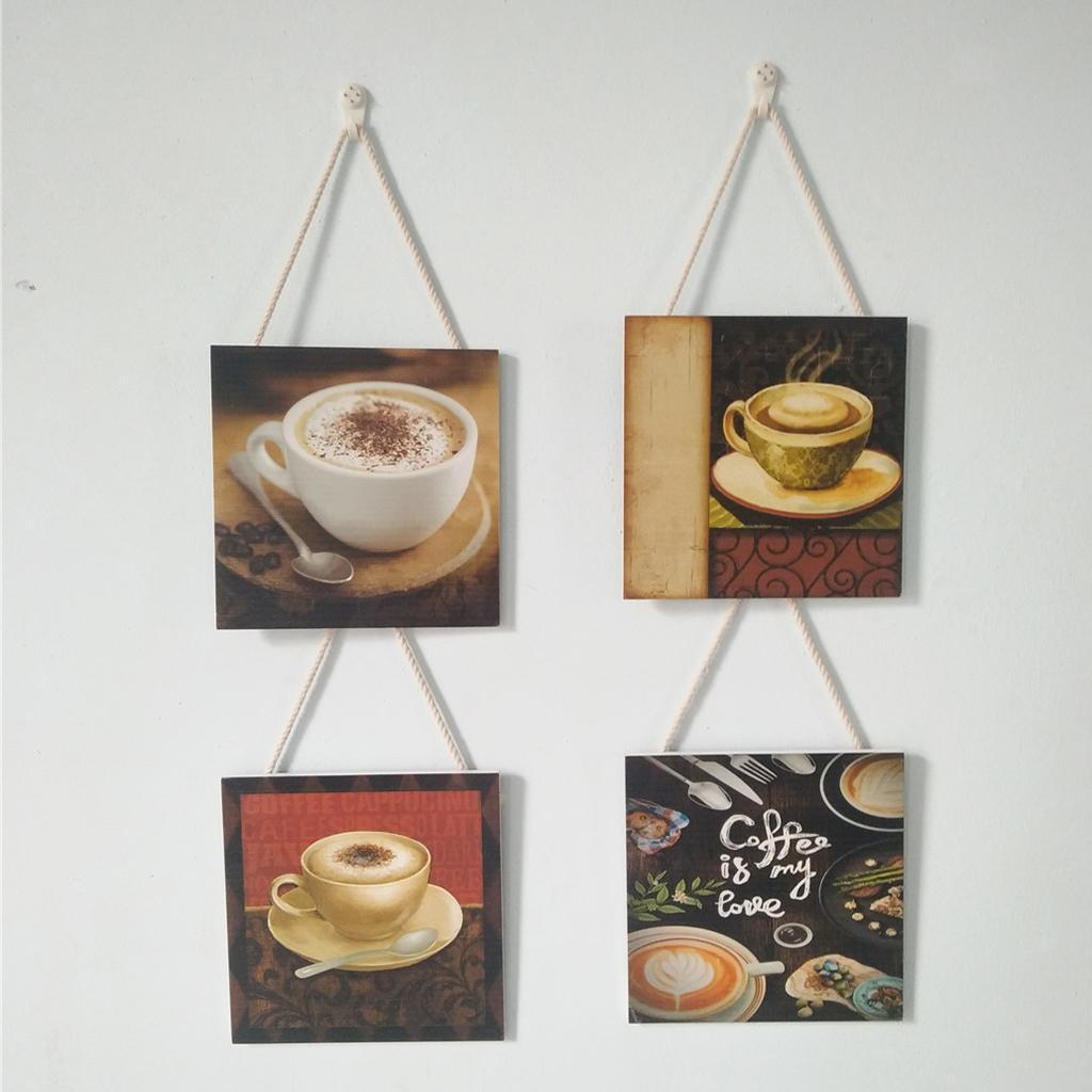 Caffe-d-039-annata-del-modello-del-segno-del-segno-di-legno-per-la-decorazione miniatura 19