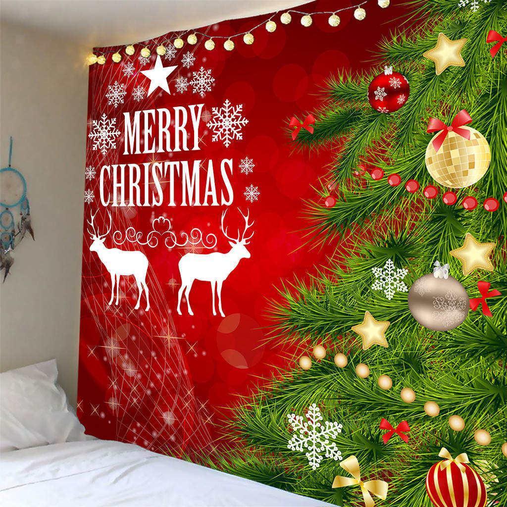 Scenografia-di-Natale-Murale-Arazzo miniatura 23
