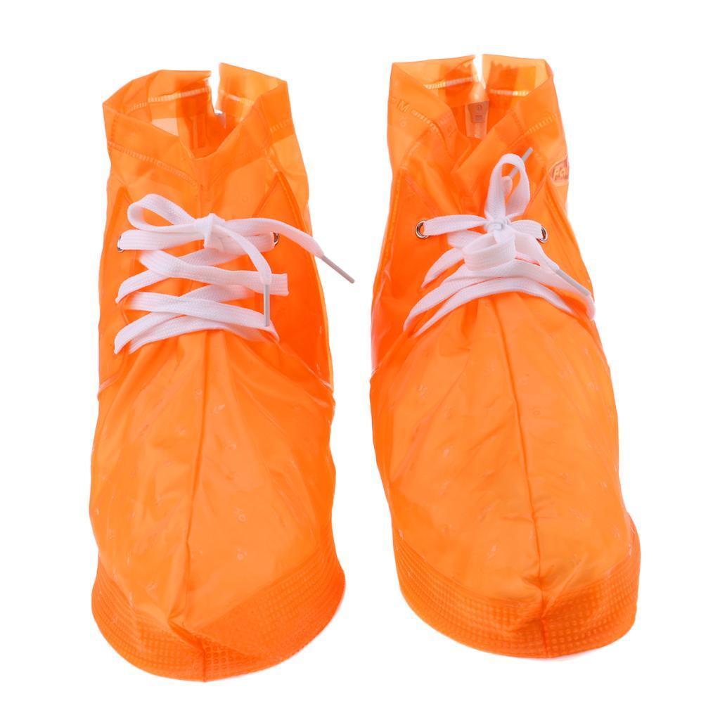 Copriscarpe-impermeabili-pieghevoli-riutilizzabili-da-donna-per-uomo miniatura 11
