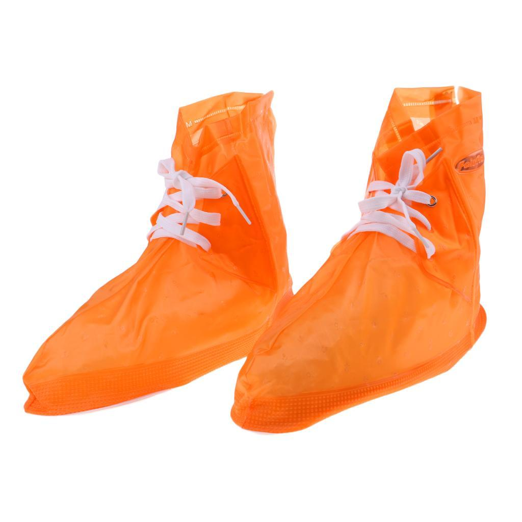 Copriscarpe-impermeabili-pieghevoli-riutilizzabili-da-donna-per-uomo miniatura 10
