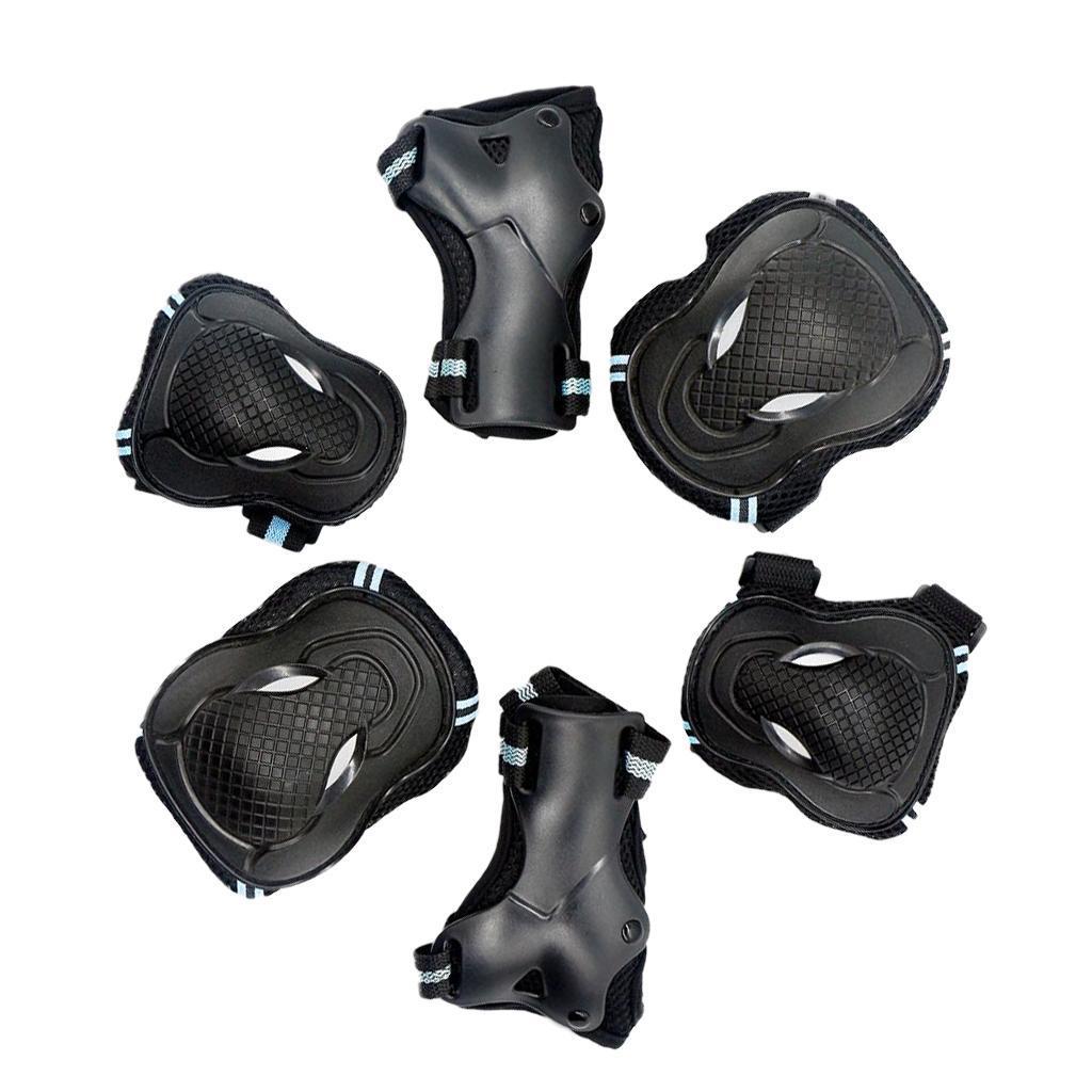 6-pezzi-per-bambini-adulti-ginocchiere-gomitiere-da-polso-e-protezioni-per miniatura 4