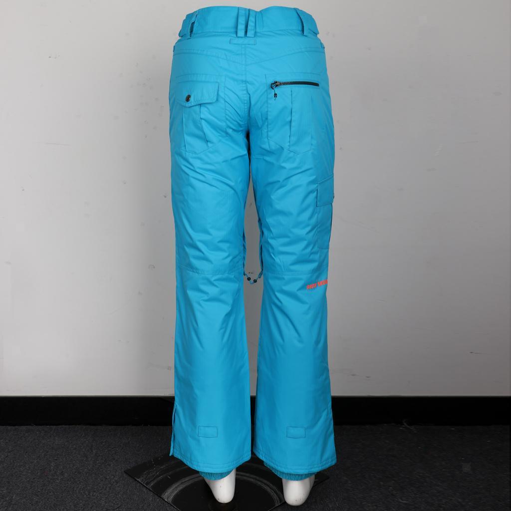 thumbnail 9 - Women's Winter Waterproof Snow Pants Sports Ski Trousers Snowboard Clothing
