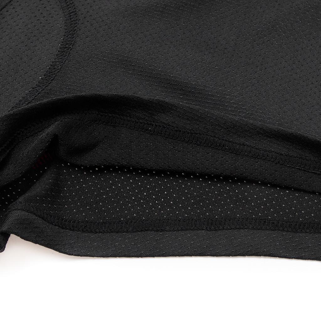 Rembourre-Baggy-Cycling-shorts-casual-velo-pantalon-court-sous-vetements-Noir miniature 12