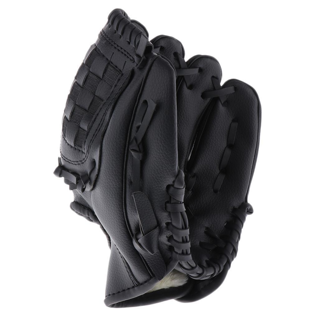 Baseball-Softball-Gloves-Wear-resistant-Mitts-Right-Hand-Thrower-Youth-Adult thumbnail 19