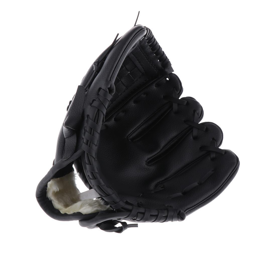 Baseball-Softball-Gloves-Wear-resistant-Mitts-Right-Hand-Thrower-Youth-Adult thumbnail 23