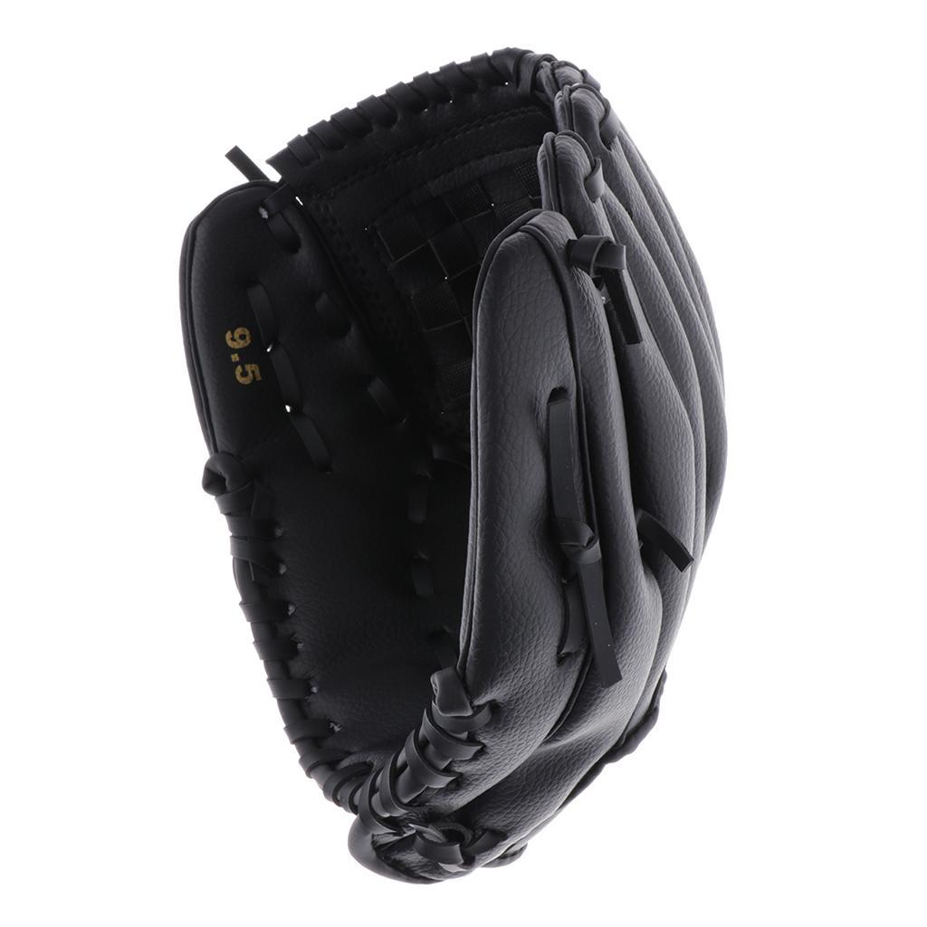 Baseball-Softball-Gloves-Wear-resistant-Mitts-Right-Hand-Thrower-Youth-Adult thumbnail 25