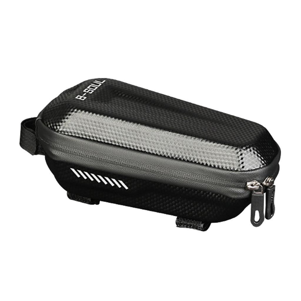 Bicycle-Front-Frame-Pannier-Bike-Tube-Bag-Mobile-Phone-Tools-Storage-Pouch thumbnail 6