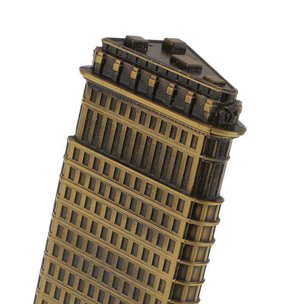 Bronze-World-039-s-Famous-Building-Architecture-Model-Statue-Landmark-Home-Decor thumbnail 25