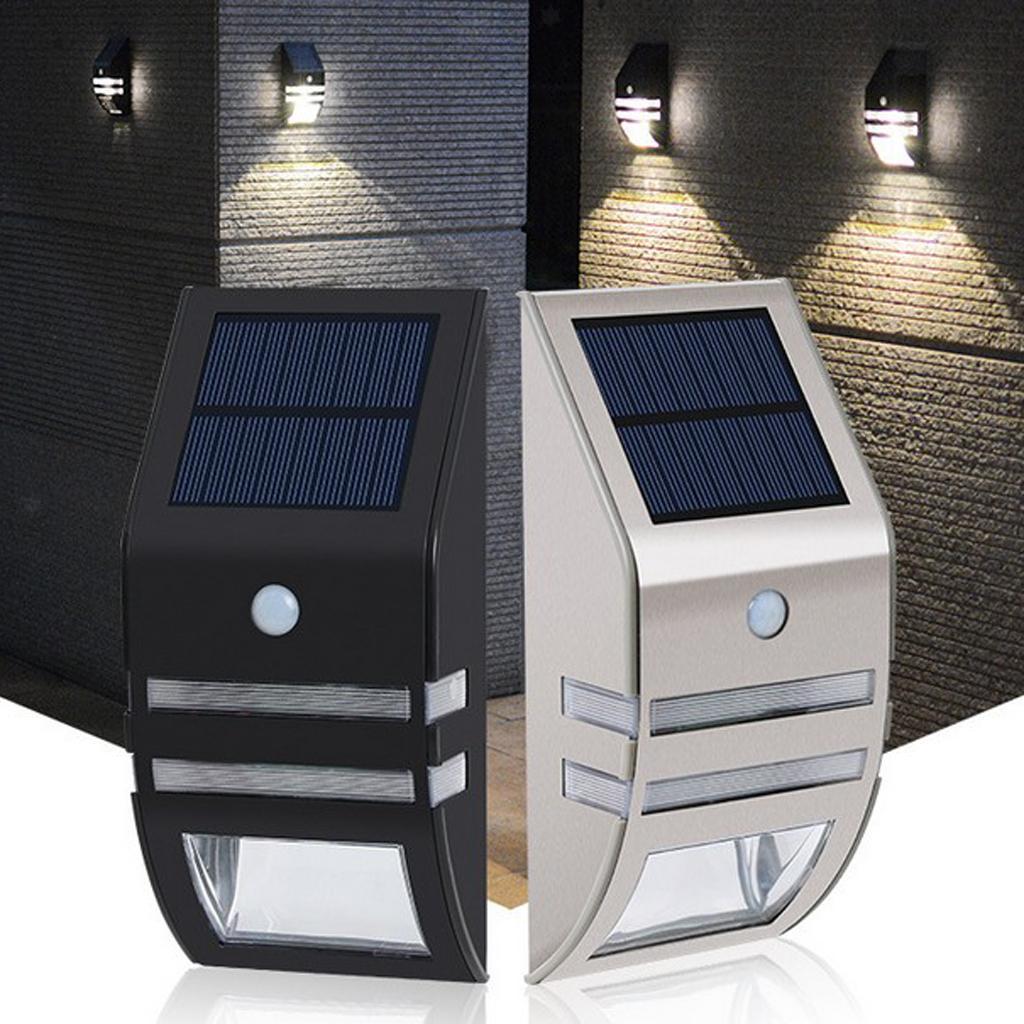 Lampe-exterieure-de-projecteur-de-mouvement-de-puissance-solaire-de-LED miniatura 8