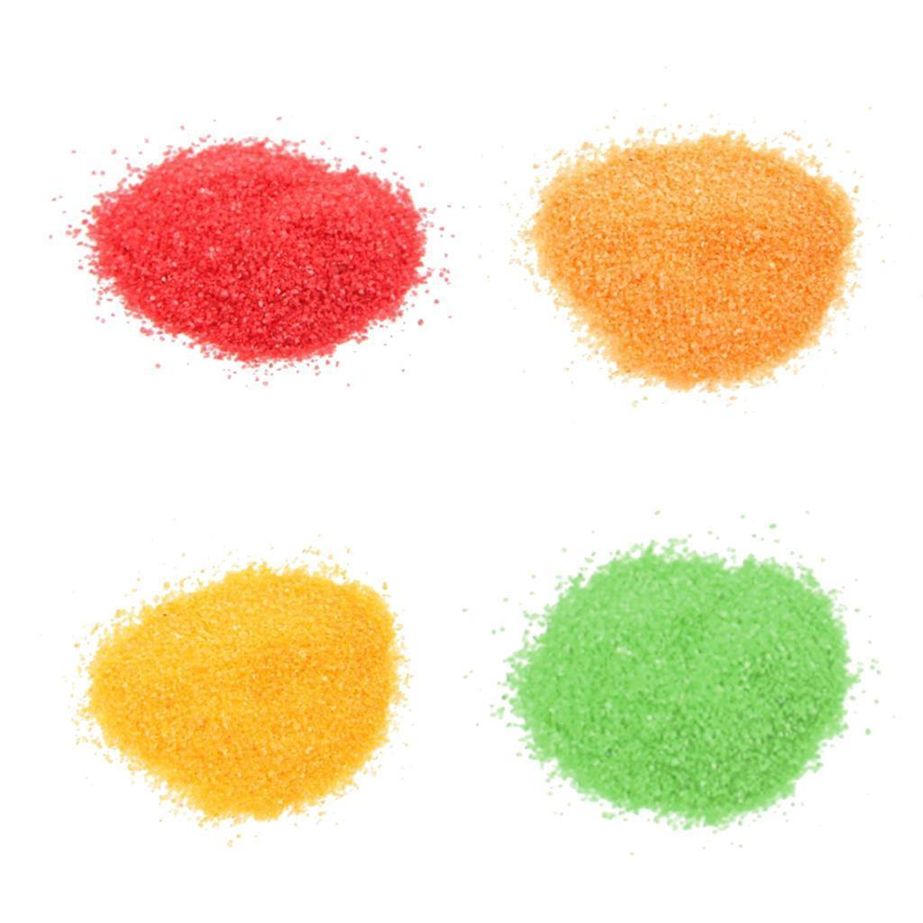 colore-decorativo-sabbia-per-matrimonio-miniascape-fai-da-te-arte-vaso miniatura 5