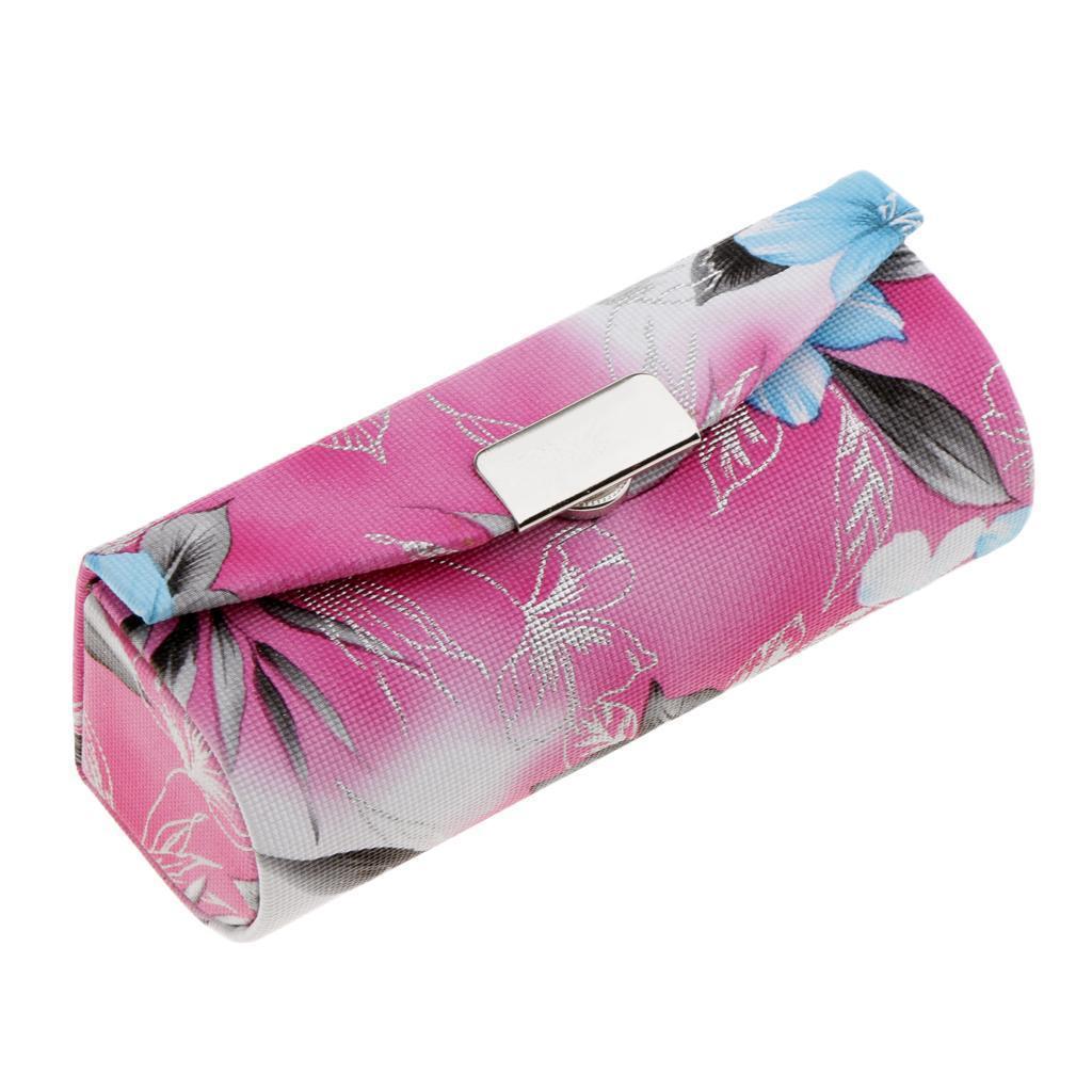 Custodia-in-pelle-per-rossetto-Borsa-per-organizer-per-borsa-Porta miniatura 4