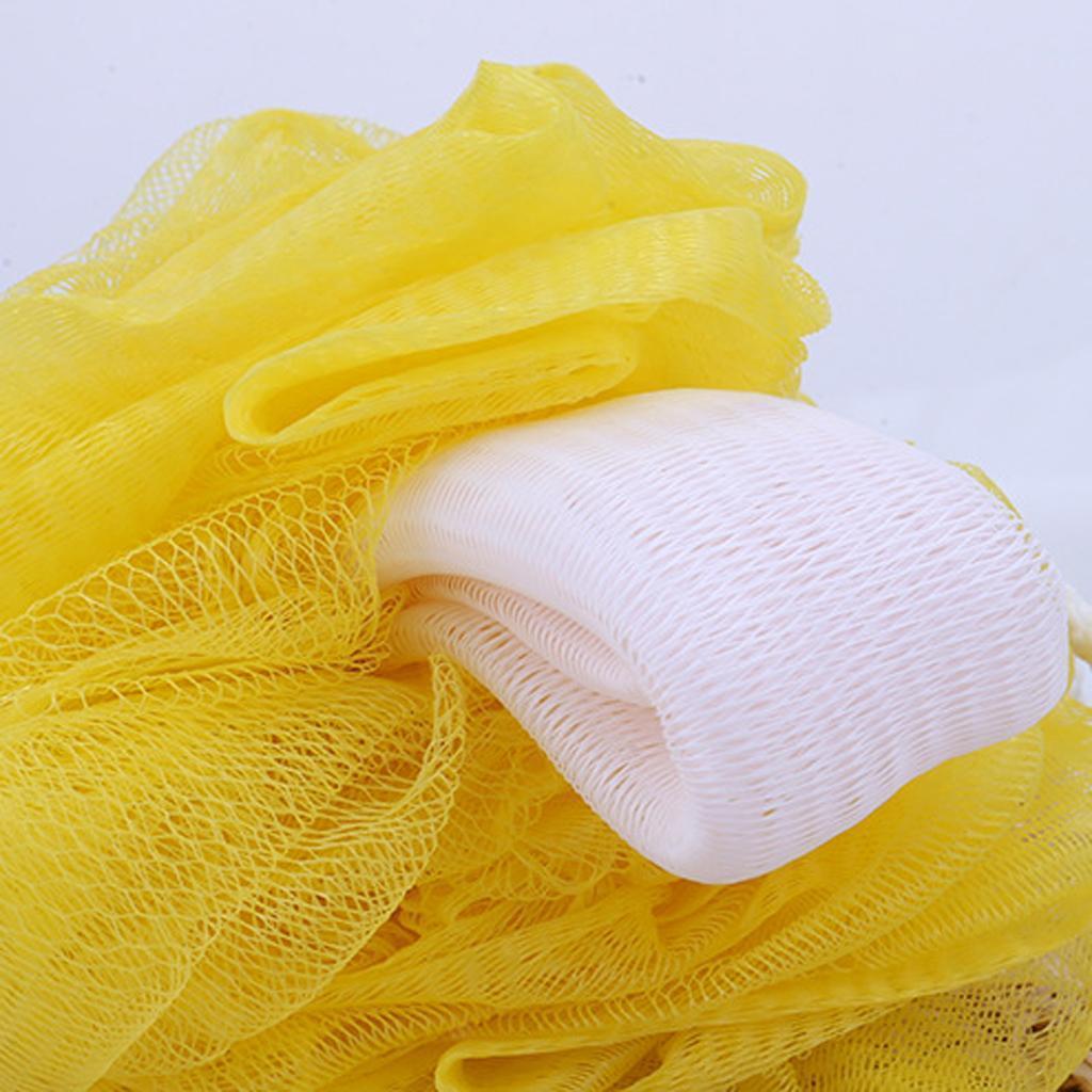 Unisex Bath Shower Sponge Exfoliating Puff Body Scrubber