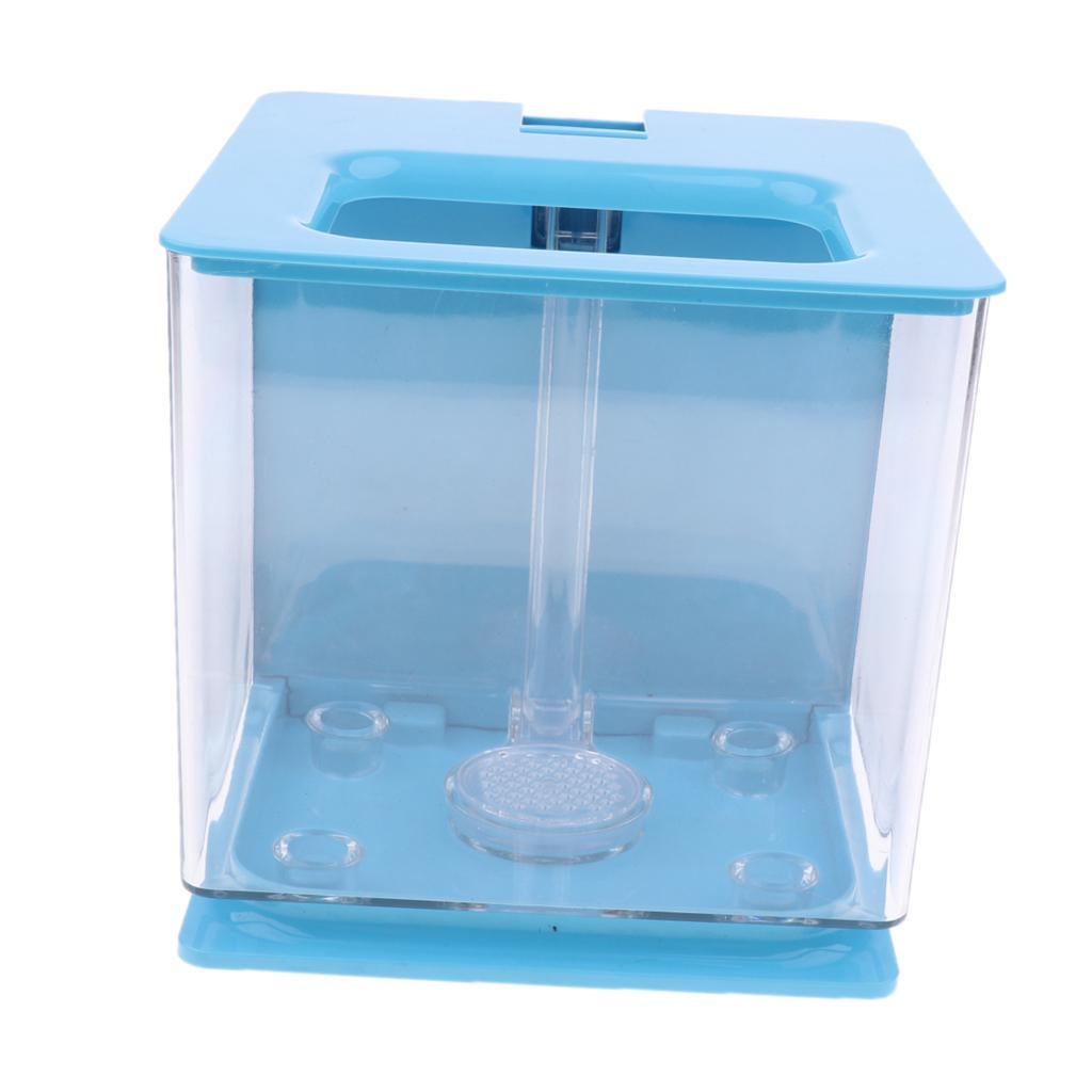 Acrylic Fish Bowl Aquarium Tank Plant