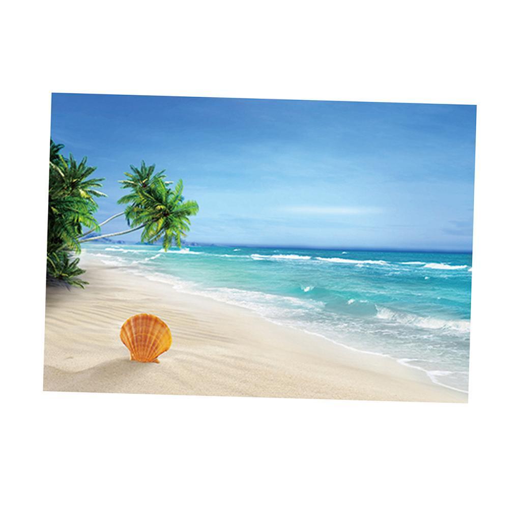 Immagine-3D-Acquario-Sfondo-Poster-Carro-Armato-Di-Pesce-Adesivo miniatura 18