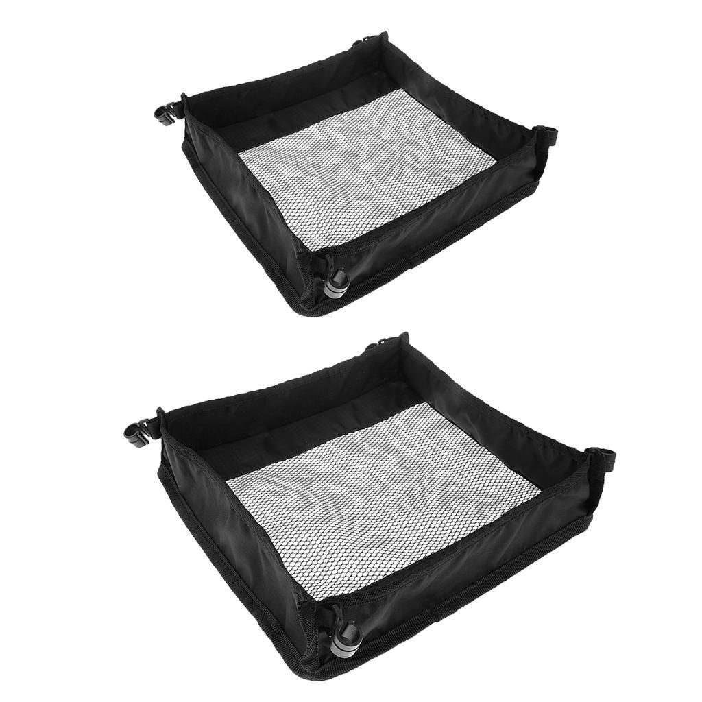 Outdoor-Picnic-Dining-Table-Organizer-Pouch-Storage-Bag-Foldable-Mesh-Bag thumbnail 4