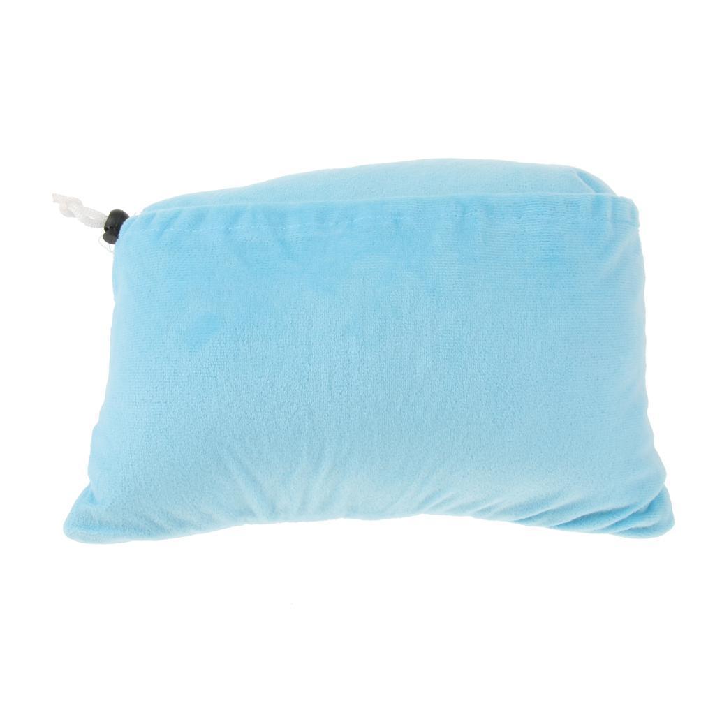 Ultralight Foldable Travel Cushion Pad Pillow Camping Beach Trips Head Rest