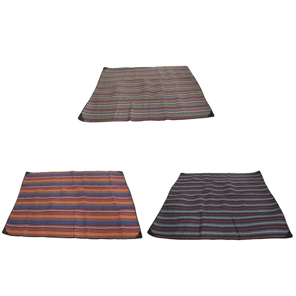 Folding-Blanket-Camping-Picnic-Mat-Lightweight-Portable-Outdoor-Beach-Garden thumbnail 3
