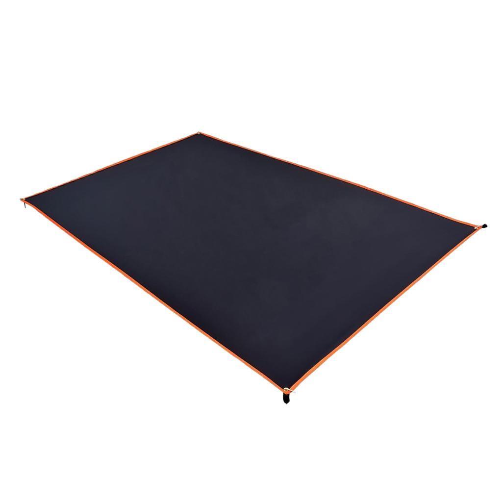Tenda-impermeabile-Tarp-Footprint-Camping-Ground-Sheet-per-escursionismo miniatura 20