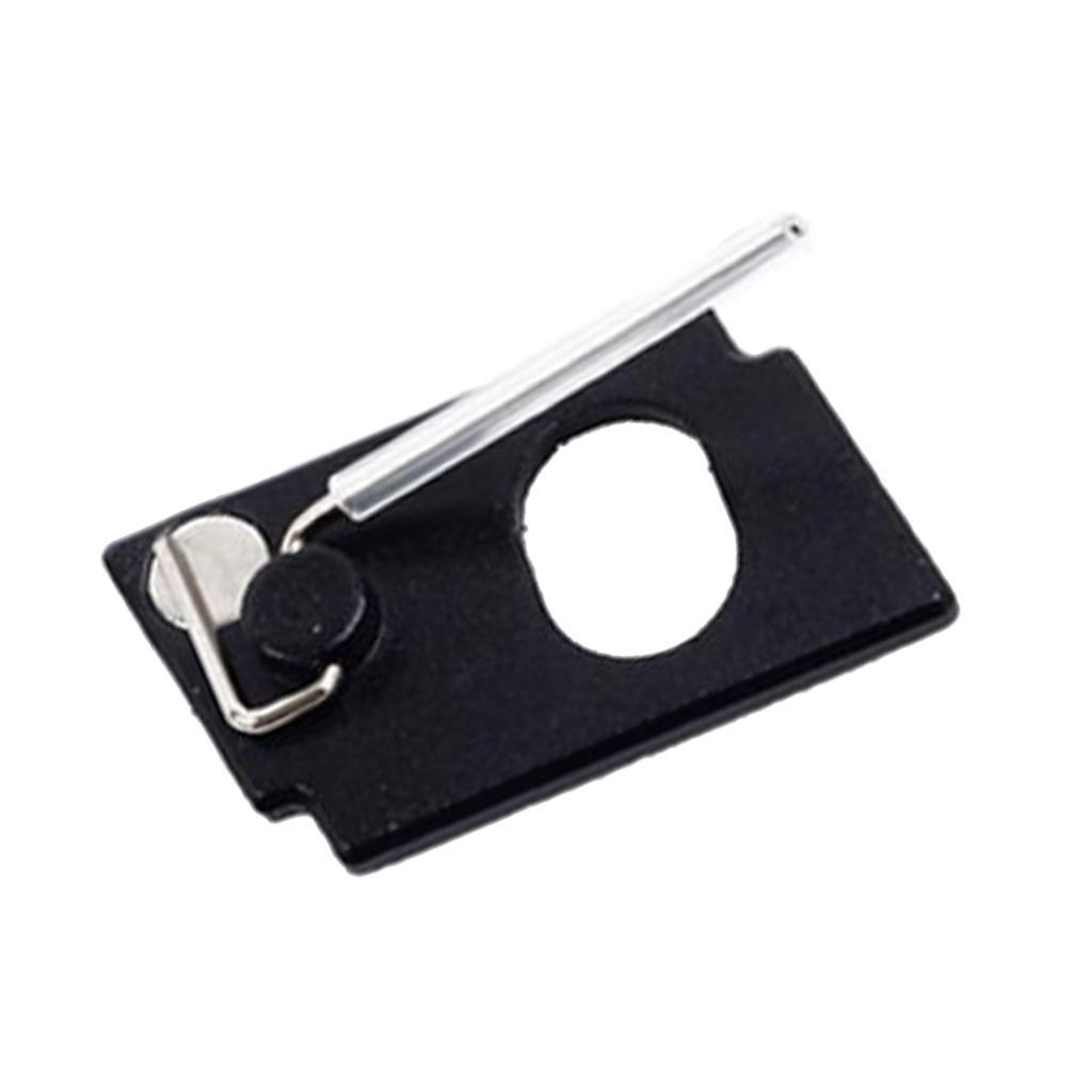4 Stück Aluminium Magnet Pfeilauflage Arrow Rest Rechtshand Recurvebogen