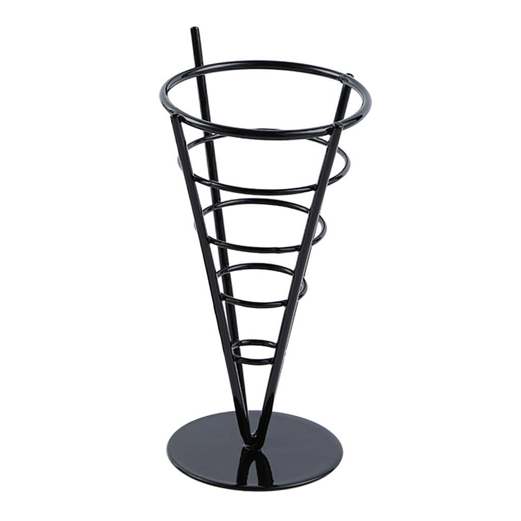 French-Fry-Stand-Cone-Basket-Holder-for-Fries-Fish-and-Chips-and-Appetizers thumbnail 6