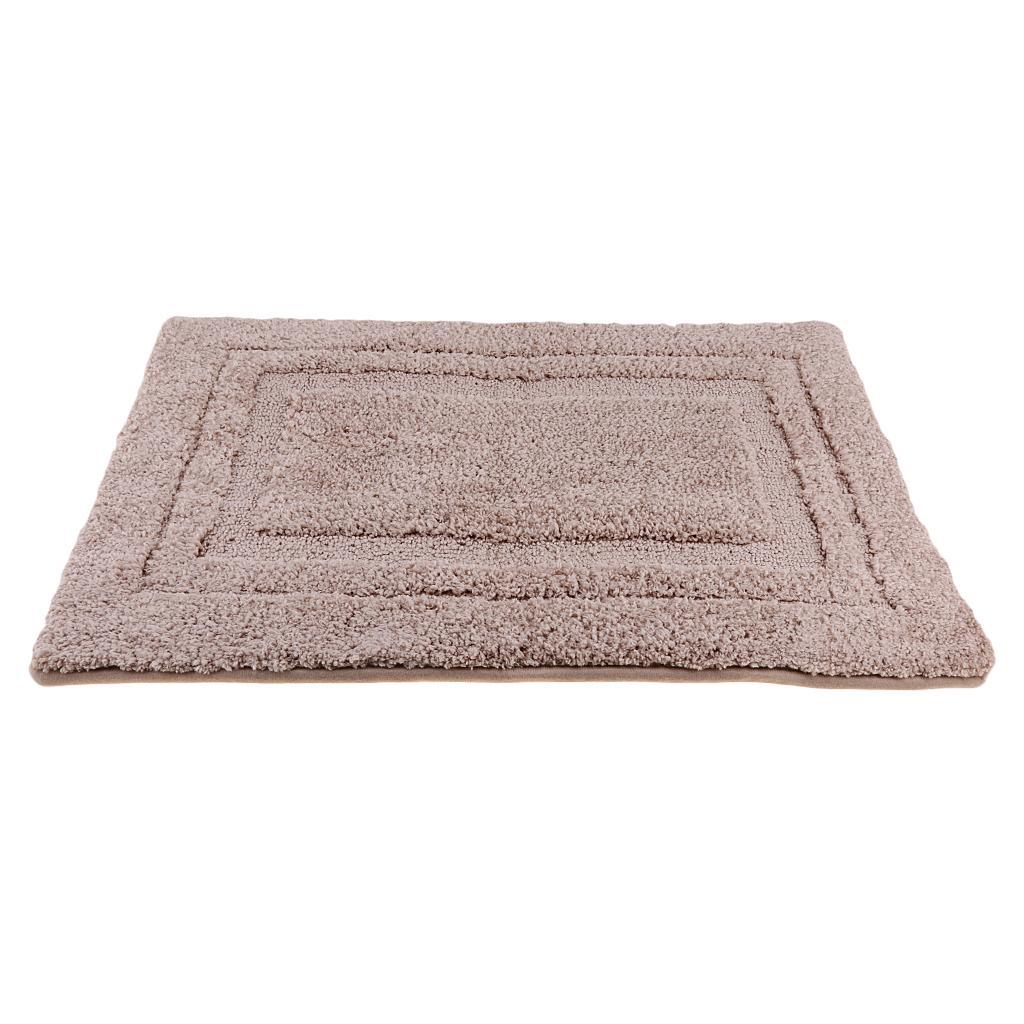 Rectangle Door Mat Fiber Non-Slip Bathroom Toilet Rug Washable Floor Bathmat