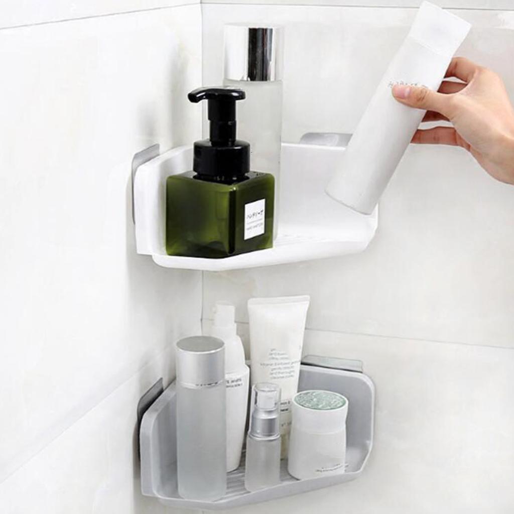 Bathroom Shower Caddy Basket Cosmetic Shampoo Holder Shelf with ...