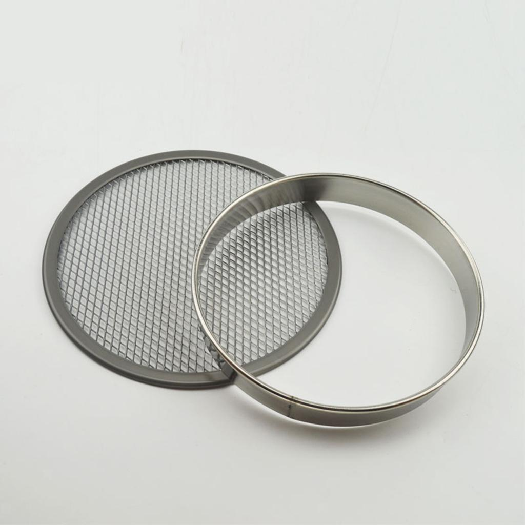 Non Stick Metal Round Rings Mold Pastry Rings For Pizza