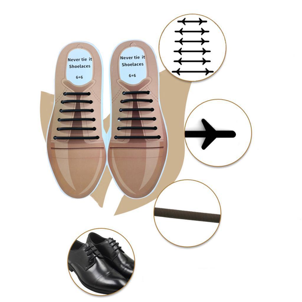 12pc-set-unisexe-sans-lacets-lacets-baskets-en-silicone-elastique miniature 10