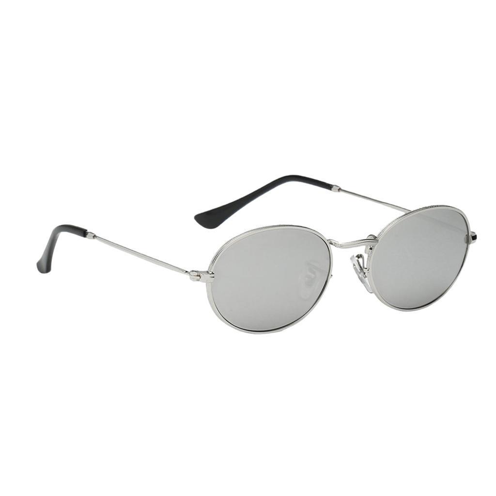 Vintage-Round-Frame-Womens-Men-039-s-Retro-Mirror-Sunglasses-Eyewear-Fashion-Glasses thumbnail 6