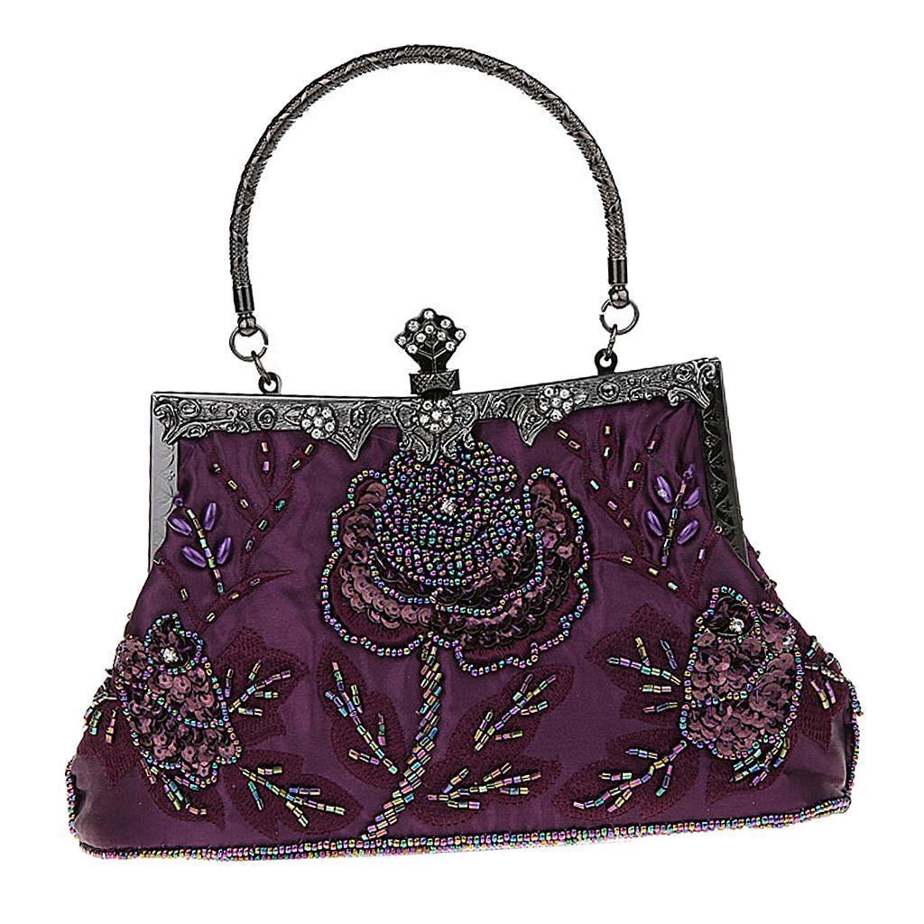 Frauen Abendtasche Handtasche Clutch Partytasche mit