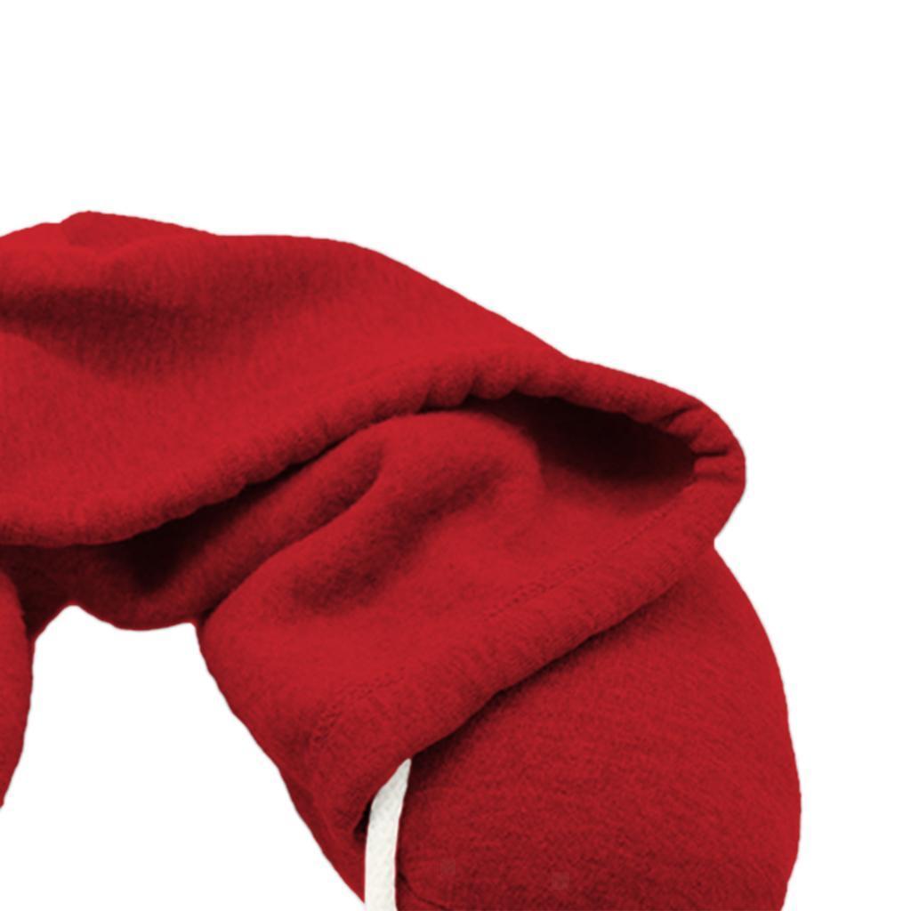 Hooded Drawstring U Shape Airplane Travel Pillow Neck