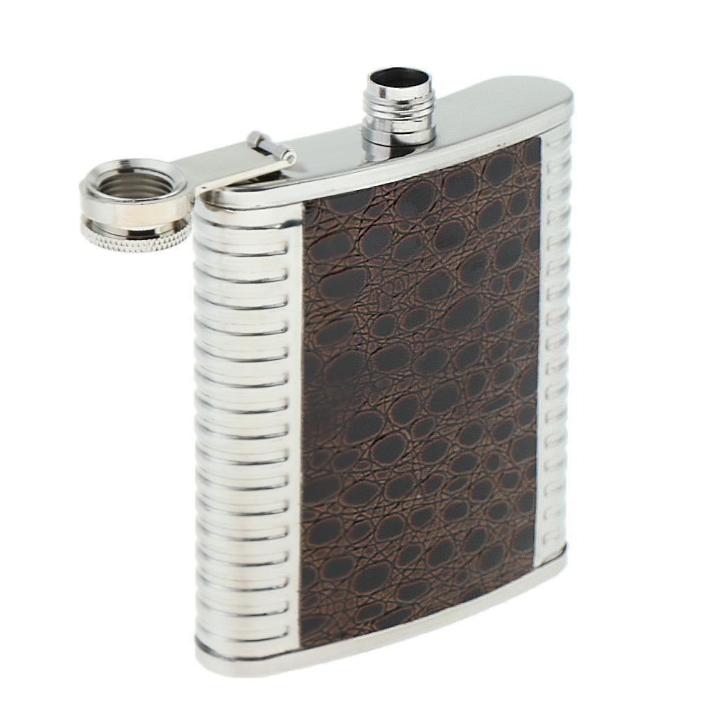 5-6-7oz-Liquor-Stainless-Steel-Pocket-Hip-Flask-Takeaway-Alcholo-Bottle thumbnail 12