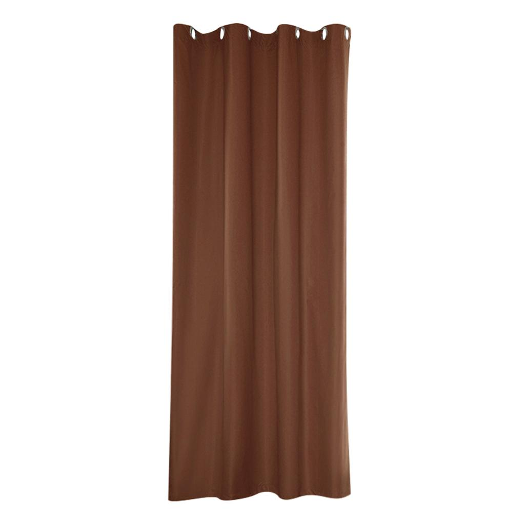 Indoor Outdoor Curtains Coffee_54x108inch