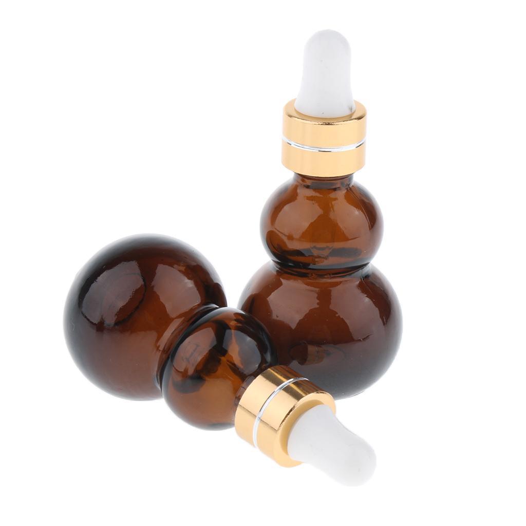 6-Pezzi-Bottiglie-Contagocce-Flacone-Olio-Essenziali-Liquido-Accessori-Vetro miniatura 5