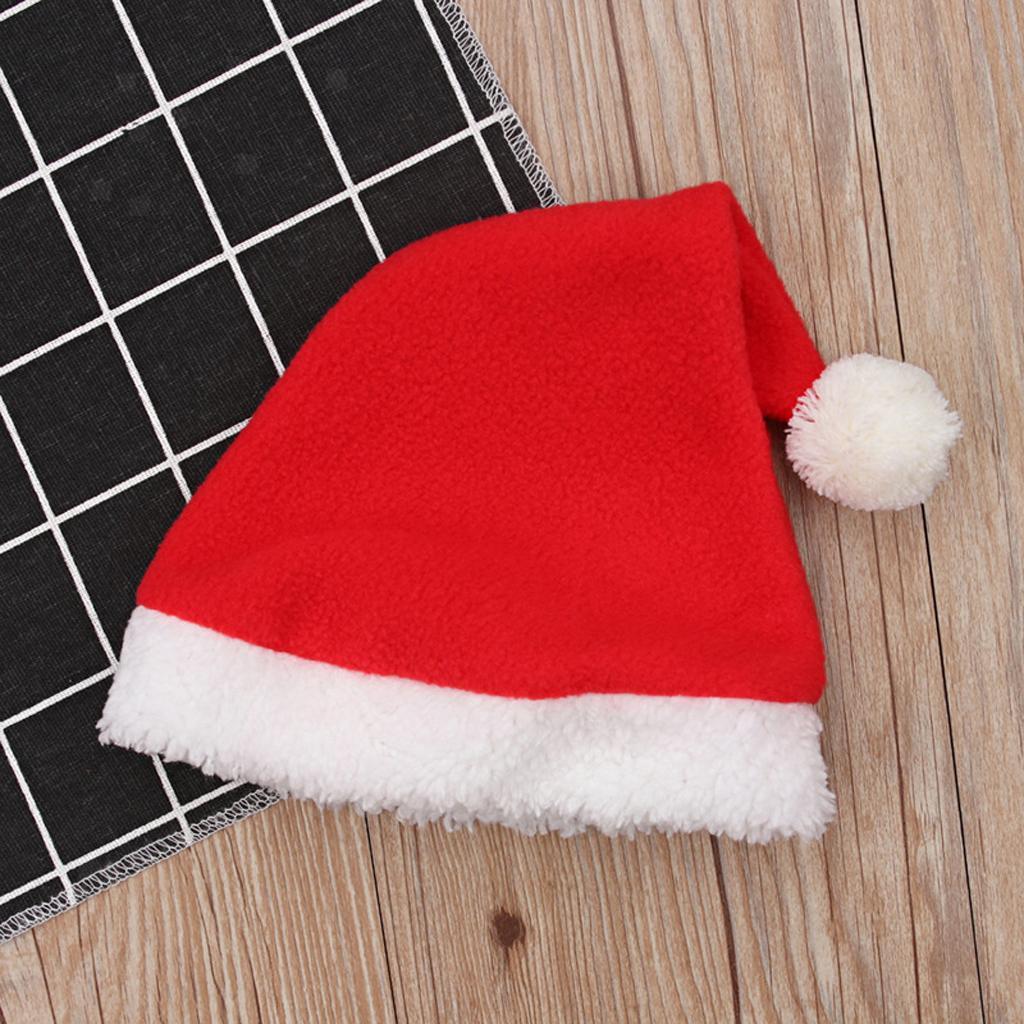 4Pc-Baby-Boy-Girl-Christmas-Santa-Claus-Costume-Top-Pants-Hat-Outfit-Clothes-Set thumbnail 6