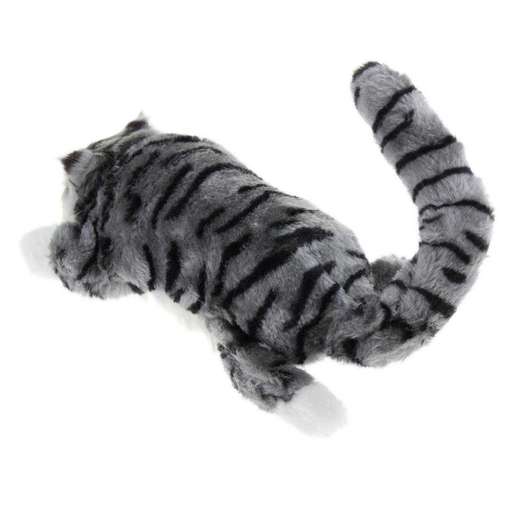 Electric Wagging Tail Laughing Amp Rolling Kitten Plush