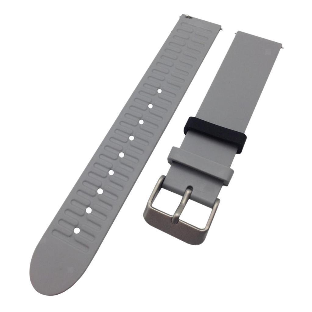 Indexbild 10 - Smart Watch Wristband, TPE Gummi Gel Handgelenk Band Bügel Gurt und