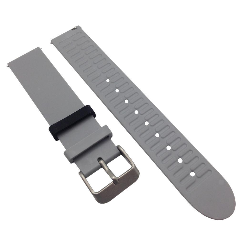 Indexbild 12 - Smart Watch Wristband, TPE Gummi Gel Handgelenk Band Bügel Gurt und
